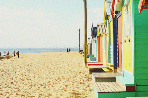 beach, beach house, bright, colours, mr nobody