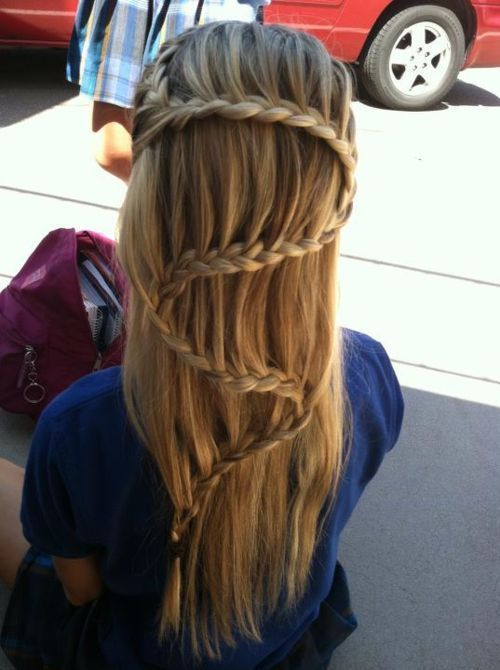 beautiful, beauty, blond, blonde, braid