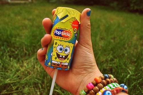 beautiful, beauty, cute, light, nature, photography, popsickle, pretty, sponge bob, sweet