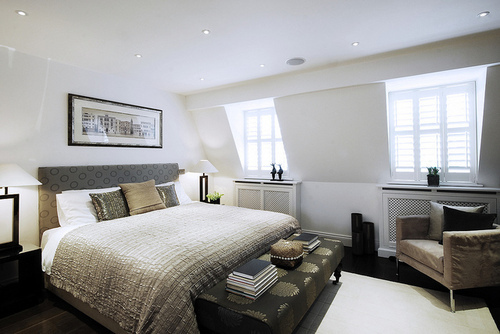 beautiful bed bedroom home house interior interiors design
