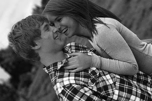 beautiful, black and white, boy, couple, cute