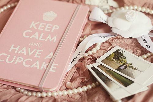beautiful, book, chanel, classy, cupcake