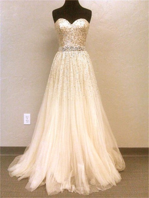 beautiful, bride, cream, cute, dress, fashion, girl, glitter, gold, gown, model, pretty, silver, sparkles, wedding, wedding dress
