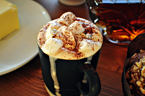 beautiful, brown, cafe, cappuccino, chocolate