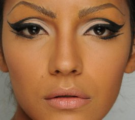 beautiful, eye shadow, eyeliner, girl, lashes