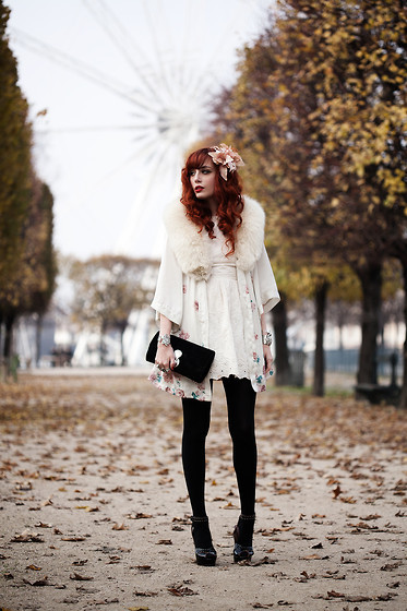 beauty, clothes, coat, cute, dress