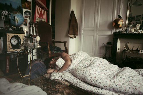 bed, boy, led zeppelin, room, sleep, vintage