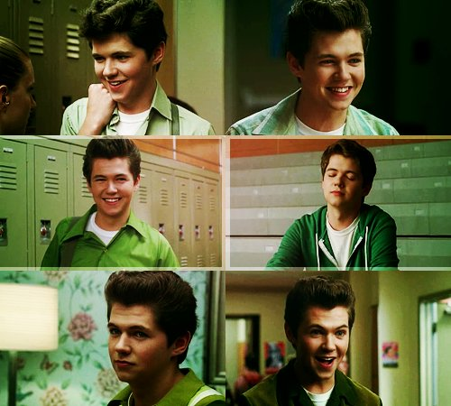 being green, damian, damian mcginty, glee, irish