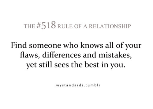 best, differences, flaws, love, mistakes, relationship, rule, text, true