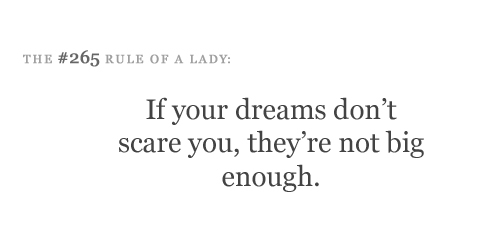 big, dream, dreams, phrases, quote, quotes, saying, scare, text, words