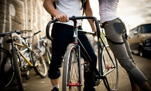 bike, boy, cute, fahsion, girl, jeans, love, photography, style