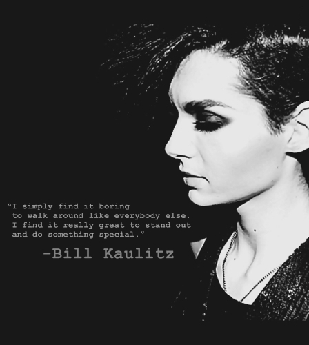 bill kaulitz, black and white, boring, cool, life, live, photography, quote, special, tokio hotel, typo, typography, walk