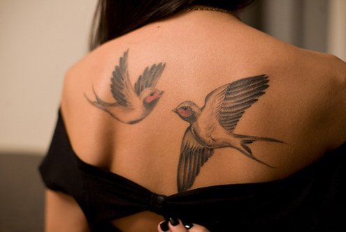 birds, cool, girl, girly, nice, tatoo, tattoo