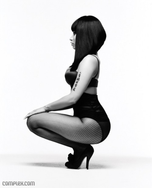black and white, celebrity, girl, music, nicki minaj, photoshoot, rapper, sexy, singer