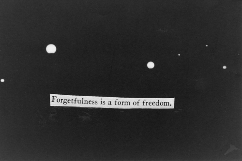 black and white, forget, freedom, hurt, love, nice, quote, text, typography
