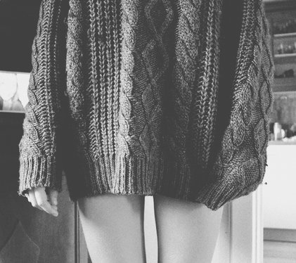 black and white, girl, knit, knitted, legs