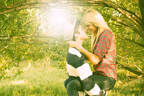 blond, blonde, boy, couple, cuddle, cute, eyes, feel, girl, good, guy, happy, hug, kiss, kissing, love, moment, pair, pretty, smile, summer, sun, sweet, wonderful