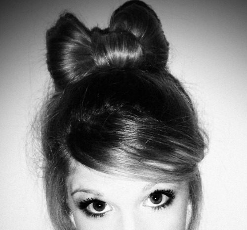 bow, cute, eyes, fashion, girl, hair bow, kisssmytan, love, style