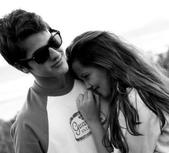 boy, boyfriend, couple, cute, girl, hug, love, sunglass, sweet