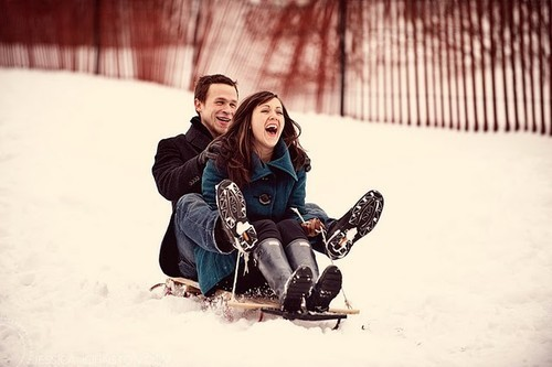 boyfriend, couple, cute, girlfriend, photography, sled, sledding, snow, want, winter