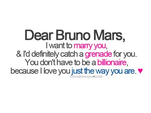 Bruno Mars, Grenade, Just The Way You Are,