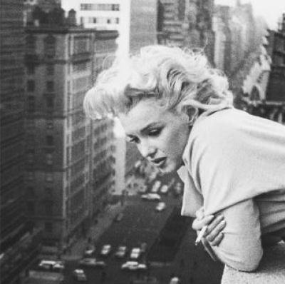 buildings, city, marilyn monroe, urban