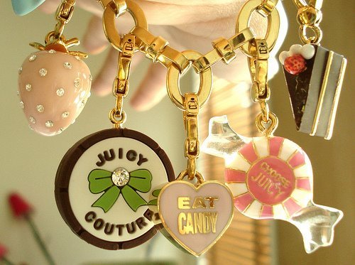 cake, candy, cute, gold, golden, heart, jewelery, juicy, love, pink, ribbon, strawberry
