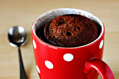 cake in a mug, chocolate, cup muffin, cupe, - image #283874 on Favim ...