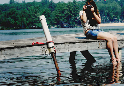 camera, cool, cute, fashion, girl, good, makeup, model, nature, photo, photography, pretty, psummer, sexy, style, tree, water