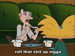 cartoon, funny, grandpa, hey arnold, nigga