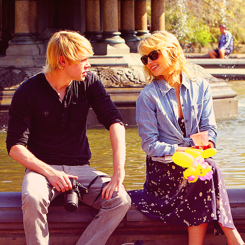 chord overstreet dianna agron glee image 285524 on