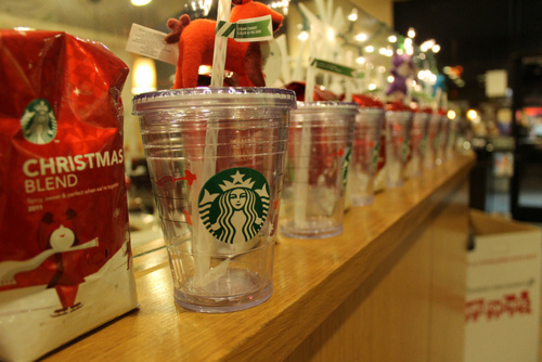 christmas, coffee, food, mocha, starbucks