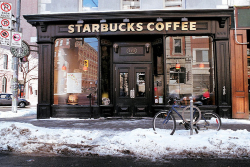 christmas, snow, starbucks, starbucks coffee