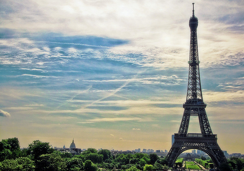 cloud, eiffel, green, nails, paris