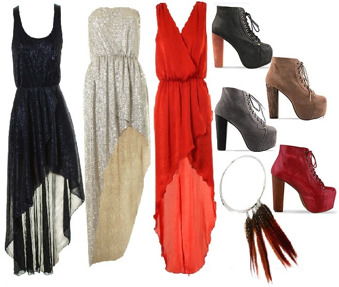 collage, dream, dress, fashion, feahters