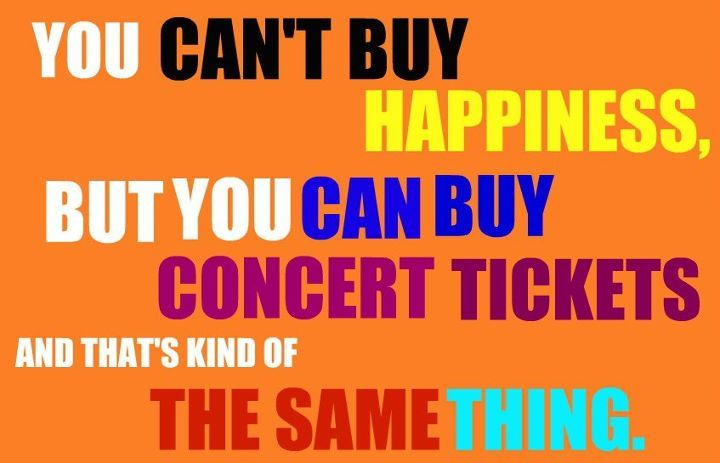 colors, concert, concert tickets, demi lovato, happiness