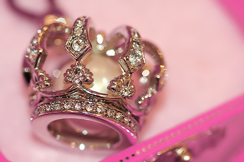 crown, cute, pink, pretty