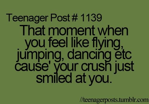 crush, dancing, feeling, flying, funny