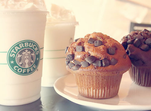 cupecake, love, starbucks