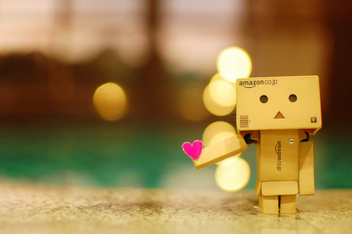 cute, danbo, heart, love