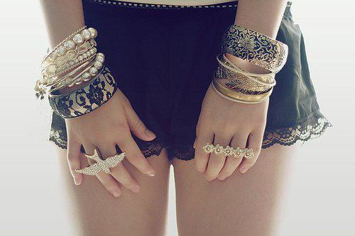 cute, fashion, gold, golden, jewel