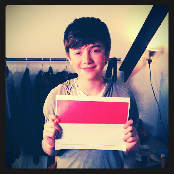 cute, flag, greyson chance, indonesia, smile