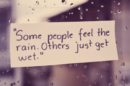 Sad Love Quotes In Rain Images & Pictures - Becuo