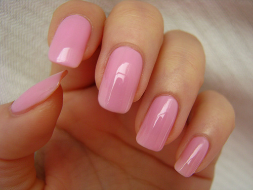 cute, girly, nails, nails pink, pastel