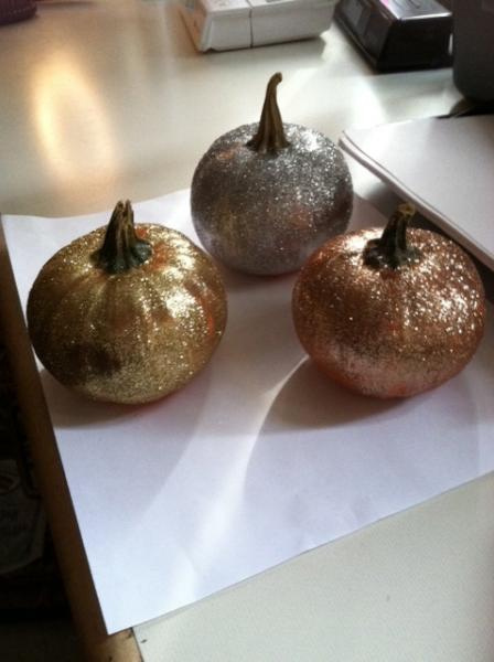 cute, glitter, pretty, pumpkins, sparkle