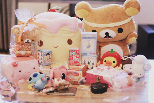cute, kawaii, rilakkuma