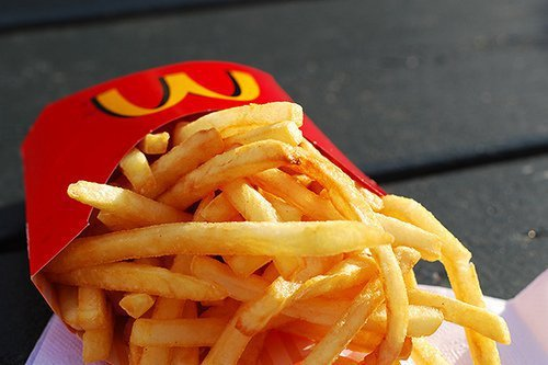 delicious, eat, food, fried chips, mc donalds