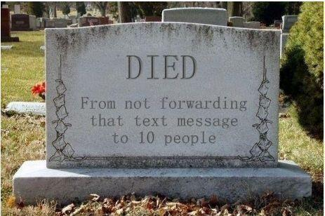 died, forward, funny, gravestone, message