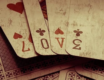dirt, game, love, play, playing cards