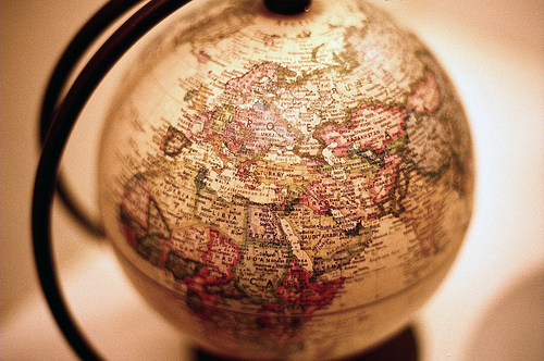 earth, globe, photography, vintage, world